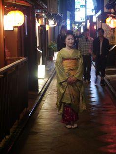 croiser une geisha à Pontocho, Kyoto