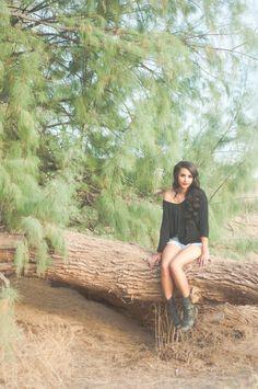 Grunge photoshoot.