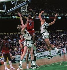 Celtics Basketball, Basketball Players, Basketball Court, Boston Sports, Magic Johnson, Thanks For The Memories, Larry Bird, Nba Players, Michael Jordan