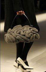 Brain Bag by Jun Takashi  Knitted Brain! - LOVE