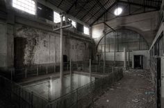 industrial archeology - hydroelectric power station