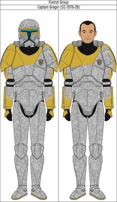 Captain Gregor (CC-5576-39) by QuillSpirit15971