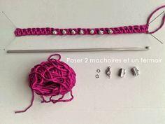 réalisation d'un bracelet (blog de tambouille)