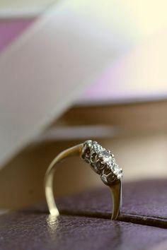 アンティークオールドヨーロピアンカットダイヤモンドリング エンゲージリング アンティークジュエリー フランス イギリス