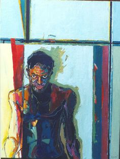 HOME DECOR – ART – PAINTING – OIL ON CANVAS – Darrell George is a talented painter in Bethlehem PA. Painters Francis Bacon, Vachagan Narazyan, Wayne Thiebaud, and Richard Diebenkorn are the most influential to my paintings and process. A Life in college athletics and my time spent living and working in the great American cities of Seattle, Denver, and New Orleans combine to influence the action and color palette I use in my work today.