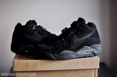Nike Air Force 180 Black Meteorite  :'(