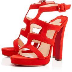 Christian Louboutin Women Platforms Shoes : Discover the latest Women Platforms Shoes collection available at Christian Louboutin Online Boutique. Christian Louboutin Sandals, Christian Louboutin Women, Ankle Wrap Sandals, Strap Sandals, Ankle Strap, Shoes Sandals, Valentino, Chanel, Only Shoes