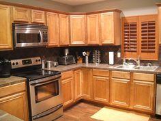 Kitchen | Remodelaholic | Complete Kitchen Transformation; White Cabinets