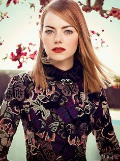 awesome Vogue US Maio 2014   Emma Stone por Craig McDean [Editorial]