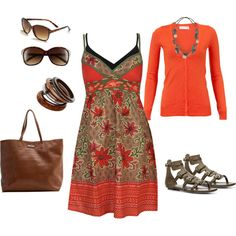 Earthy Spring, created by heather-rolin on Polyvore