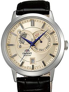 Women's Wrist Watches - Orient Automatic Sun and Moon Watch with Sapphire Crystal ET0P003W ** Find out more about the great product at the image link.