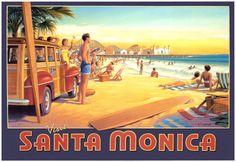 City of Santa Monica in California
