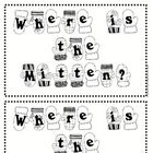 This emergent reader is a great way to reinforce positional words.  The book follows the simple pattern:  The mitten is ________ the tree.  The  la...