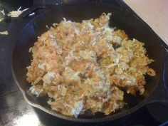Derek on Cast Iron - Cast Iron Recipes: Recipe: Skillet Hash Browns