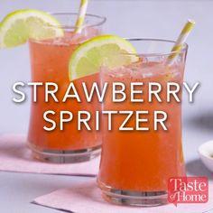 Strawberry Spritzer Recipe