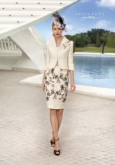 photo of ladies formal daywear design 01 by Sonia Pena