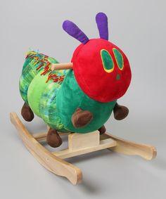The Very Hungry Caterpillar Rocker#Rocker #Babies #The_Very_Hungry_Caterpillar #Eric_Carle