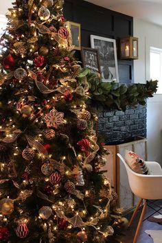 Árboles de Navidad 2017 2018 Ideas y Tendencias Spanish Holidays, Ideas Hogar, Christmas Time Is Here, Christmas Decorations, Holiday Decor, Christmas Trees, Xmas Food, Winter Wonderland, Home Decor