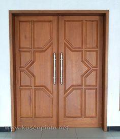 Ideas For Double Door Design Modern Interior Wooden Glass Door, Wooden Front Door Design, Double Door Design, Wooden Front Doors, Wood Doors, Grill Door Design, Room Door Design, Door Design Interior, Interior Exterior