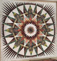 Amazon Star, Quiltworx.com, Made by Gayle and Maureen Miller of CS Palm Beach Quilting
