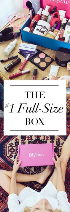 Have you tried the FabFitFun box? It's like a big surprise gift delivered to your doorstep each season. The box is stacked with premium, full-size beauty, fashion, and fitness products. Use code EXTRA to get your 1st box for $39.99 and see why we're the #1 full-size box!