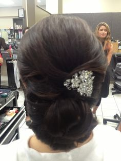 Most elegant wedding hair
