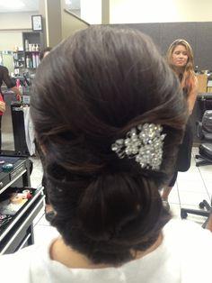 Most elegant wedding hair