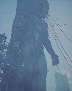 Dark Fantasy Art, Fantasy World, Arte Cyberpunk, Cyberpunk Anime, Dystopian Art, Arte Peculiar, Wow Video, Arte Obscura, Scary Art