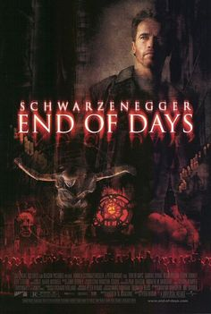 End of Days (1999) Review End Of Days Movie, 1990s Films, Gabriel Byrne, Robin Tunney, Dangerous Games, Normal Person, Heaven And Hell, Believe In God, Movie Collection