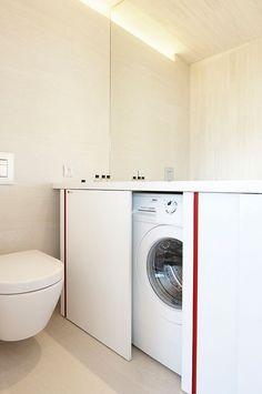 Tener un cuarto exclusivamente para el lavado de la ropa es una suerte pero no…