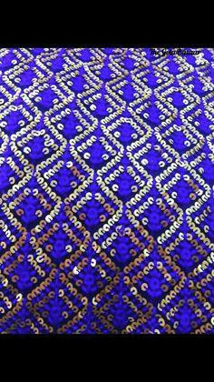 Stunning sequence fabric