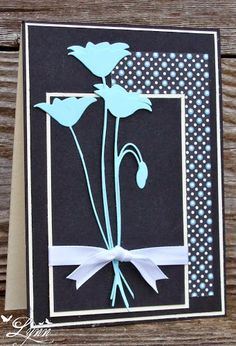 Creative Crafts by Lynn: Blue Poppies