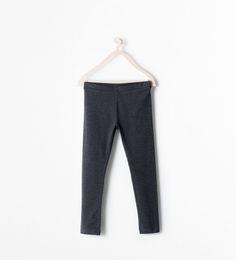 ZARA - KIDS - Organic cotton long leggings