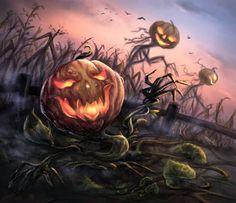 Pumpkin Carving, Challenges, Halloween, Digital, Painting, Art, Art Background, Painting Art, Kunst