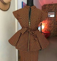 beautiful ankara style for the elegant lady. beautiful ankara style for the elegant lady. Latest African Fashion Dresses, African Dresses For Women, African Print Fashion, African Attire, Ankara Fashion, Africa Fashion, African Prints, African Women, African Clothes