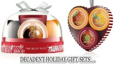 Gifts from the Body Shop. Find the perfect Christmas #Gift. www.cosmeticdesires.com #bodyshop #skincare #bodybutter