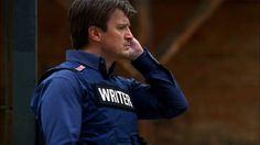"Nathan Fillion as Richard Castle - Castle - 1x06 ""Always Buy Retail"""