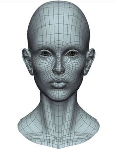 Face Robot Sample Head - Softimage