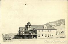 Boulder Springs Hotel Postcard