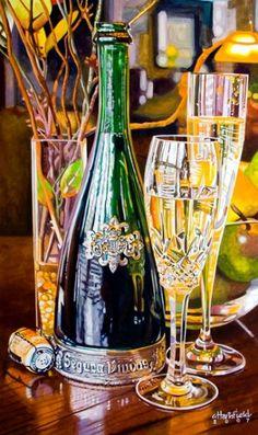 Artist Chris Hartsfield ''Segura''  Watercolor