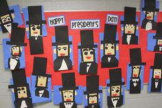 Abe Lincoln and more fun President's Day ideas - Bulletin Board