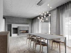 La residenza privata realizzata a Riscone (Bz) dagli architetti  Marco Micheli e Michael Mumelter