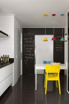 Thyara Porto – Arquiteta e Urbanista Decore Sem Gastar Muito: Parede de Lousa