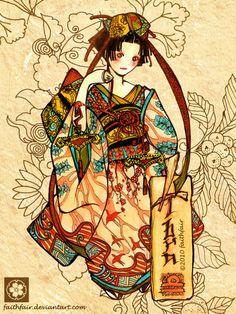 Japanese Libra by faithfair.deviantart.com