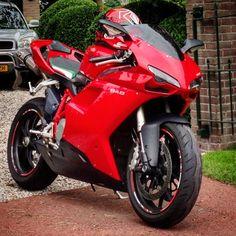 My Ducati 848. see this foto on instagram: robvangalen