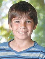 "7/8/2013 MISSING  CHILD: Terry Smith, 11, from Helen Lane in Menifee. Autistic. 4'8"". Blonde hair, blue eyes. Blue basketball shorts. (951) 210-1000"