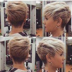 Zur Inspiration! 10 wunderschöne Friseurideen mit Undercut! - Seite 2 von 10 - Neue Frisur