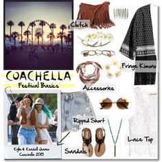 Coachella 2015 - Festival Basics by pimkielipstick on Polyvore featuring H&M, Aéropostale, Wet Seal, Lucky Star, Forever 21, Alba Botanica and Baldwin