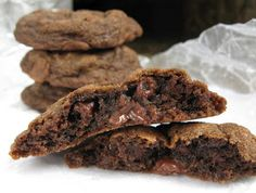 Easy Kitchen Recipes: Double Chocolate Chip Cookies! Yum!