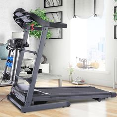 Electric Treadmill Folding Home Walking Running Machine LCD Display Weight Loss Electric Treadmill, Running Machines, Walk Run, Space Saving, Small Spaces, Walking, Weight Loss, Flooring, Display